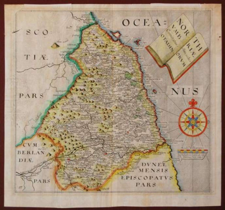 Saxton / Kip - Northumbriae Comitatus