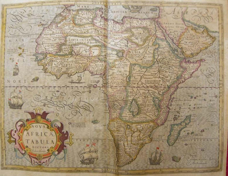 SOLD Nova Africae Tabula ...