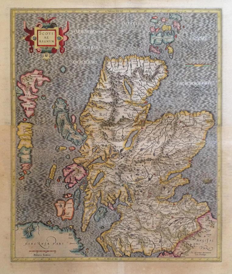 Mercator - Scotiae regnum