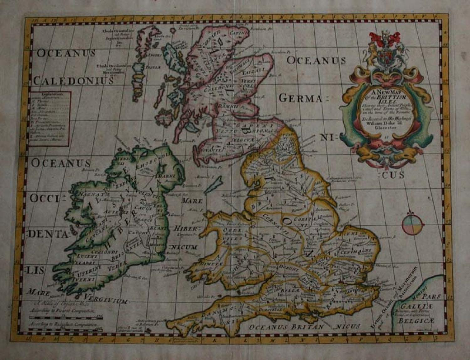 SOLD A New Map of the British Isles