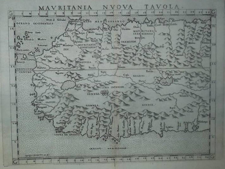 Ruscelli - Mauritania Nuova Tavola.