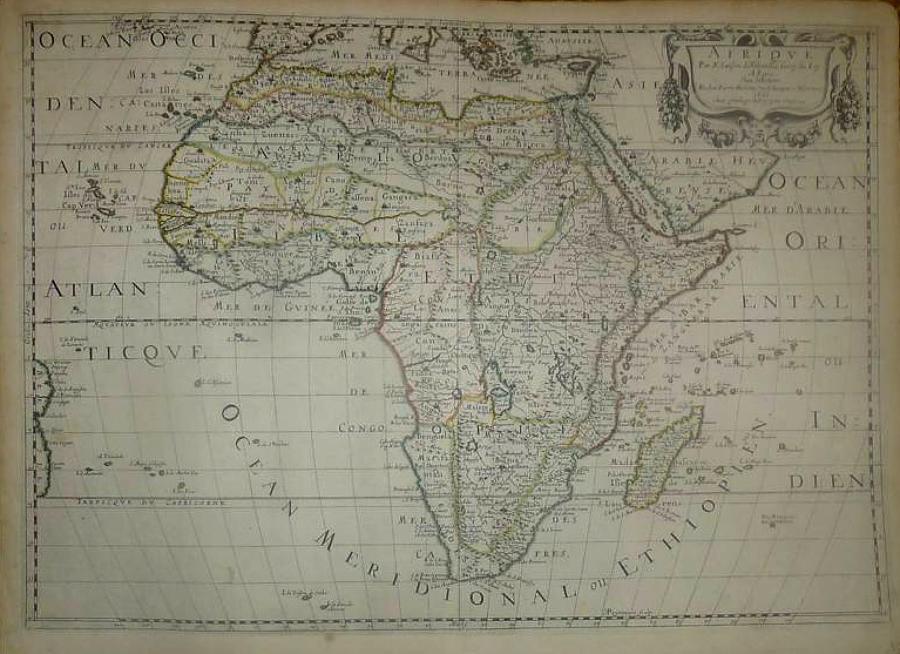 Sanson - Afrique