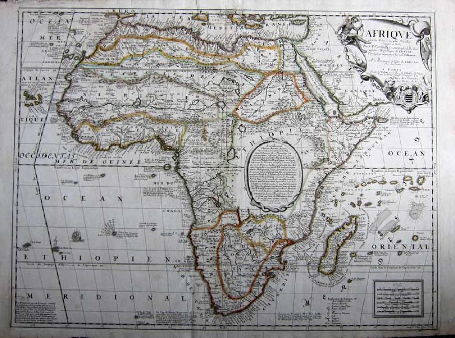 Coronelli / Nolin - Afrique ..