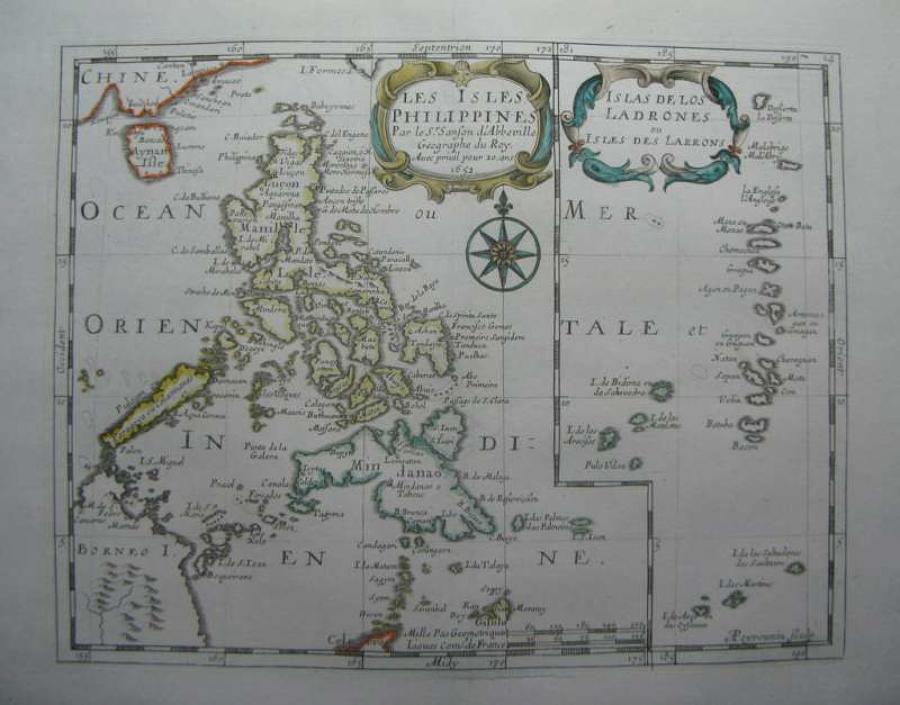 Sanson - Les Isles Philippines...