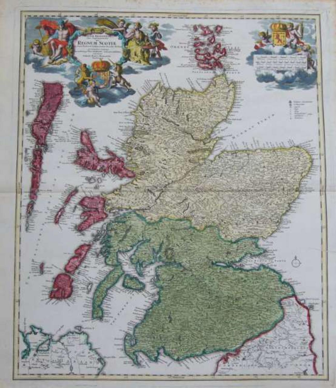 Homann - Magnae Britanniae...Regnum Scotiae
