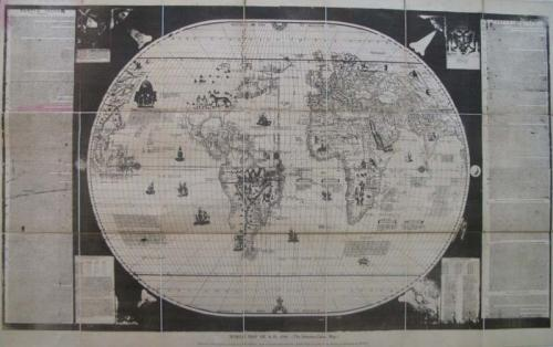 SOLD World Map of A.D. 1544