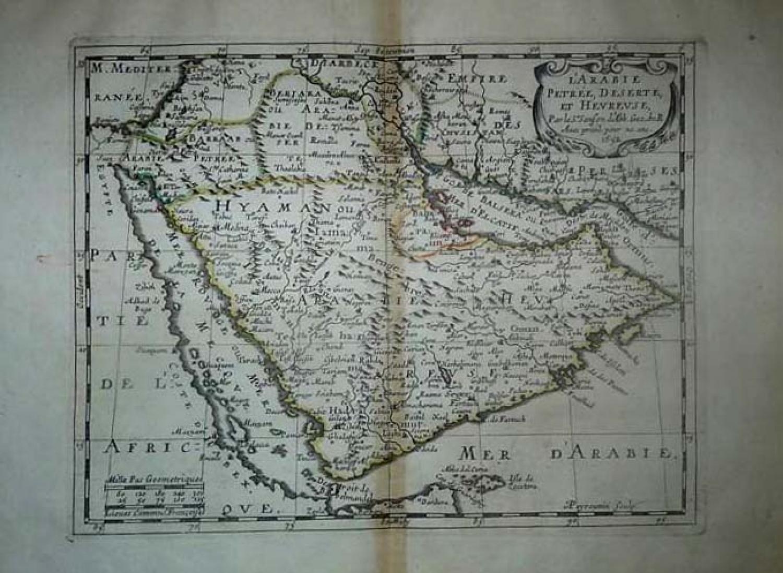 Sanson - L'Arabie...
