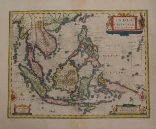 Jansson - Indiae Orientalis Nova Descriptio