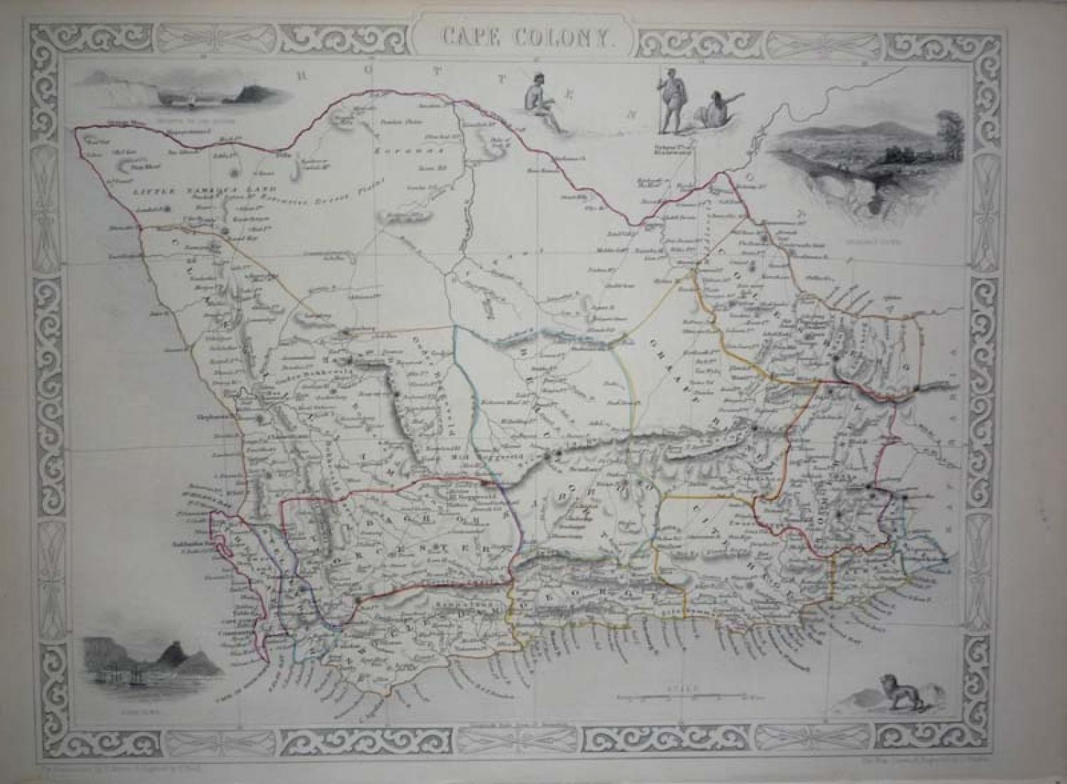 Tallis - Cape Colony