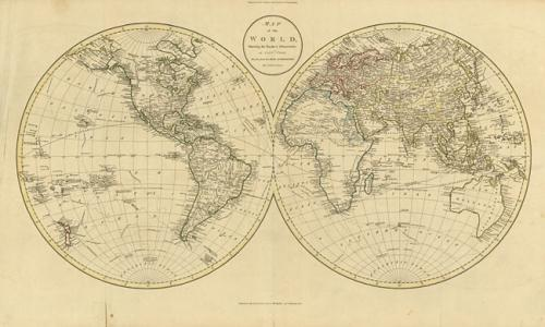 Russell - Map of the World