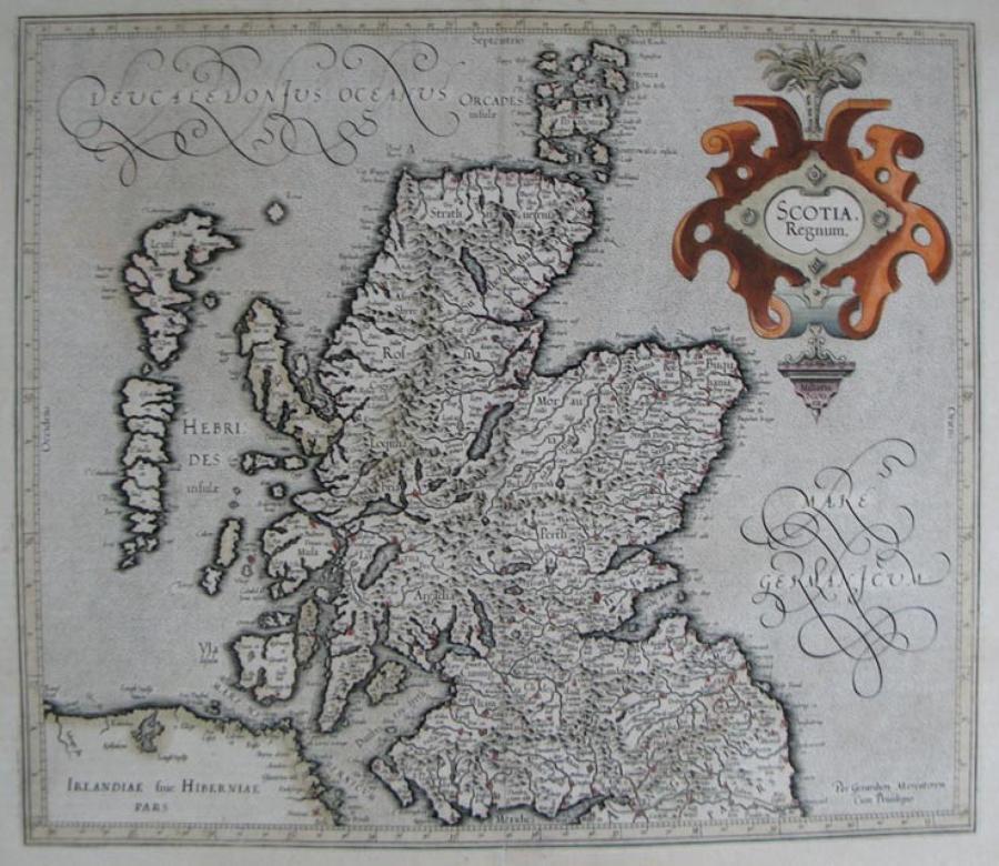 Mercator - Scotia, Regnum
