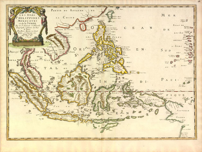 Sanson - Les Isles Philippines Molucques