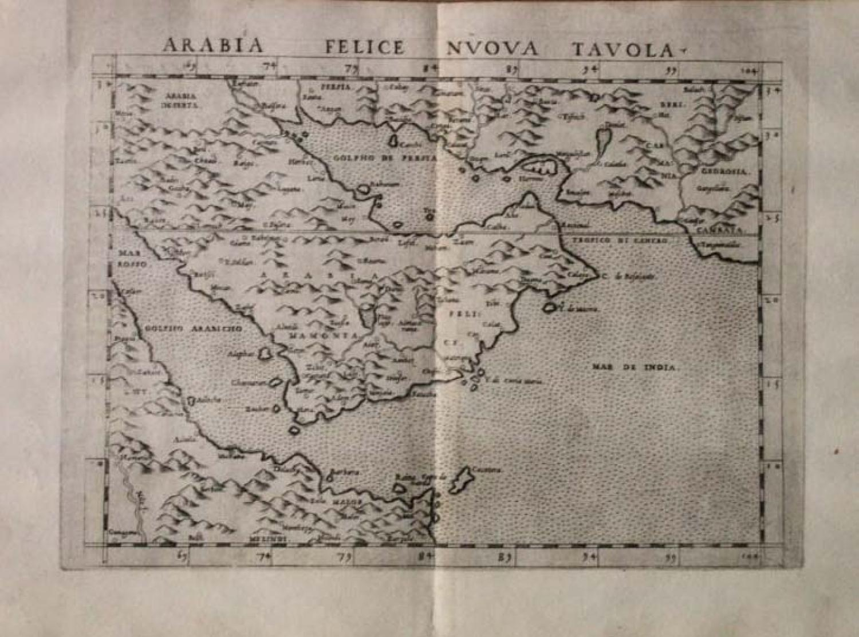 SOLD Arabia Felice Nvova Tavola