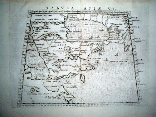 Gastaldi - Tabula Asiae VI