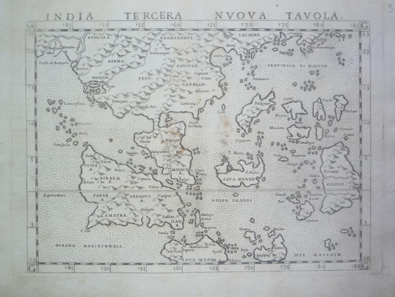 SOLD India Tercera Nuova Tavola.