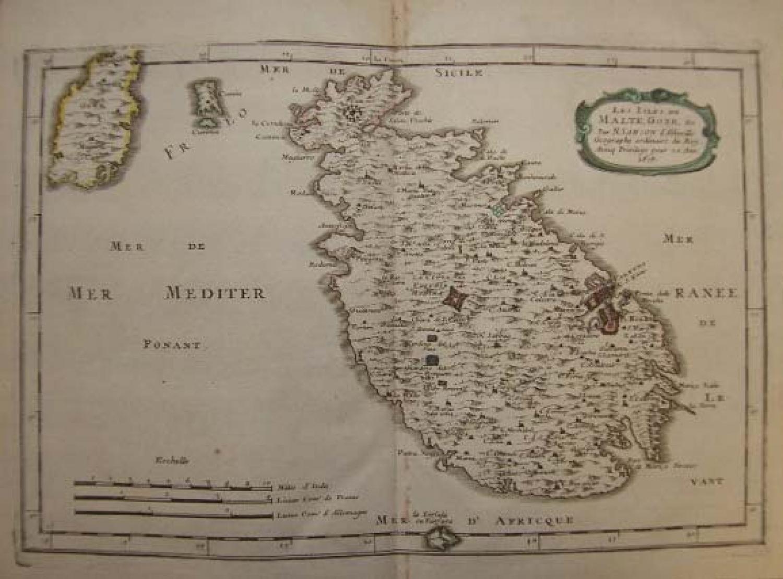 SOLD Les isles de Malte, Goze...