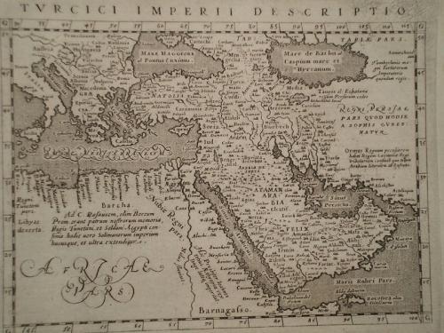 Magini - Turcici Imperii Descriptio