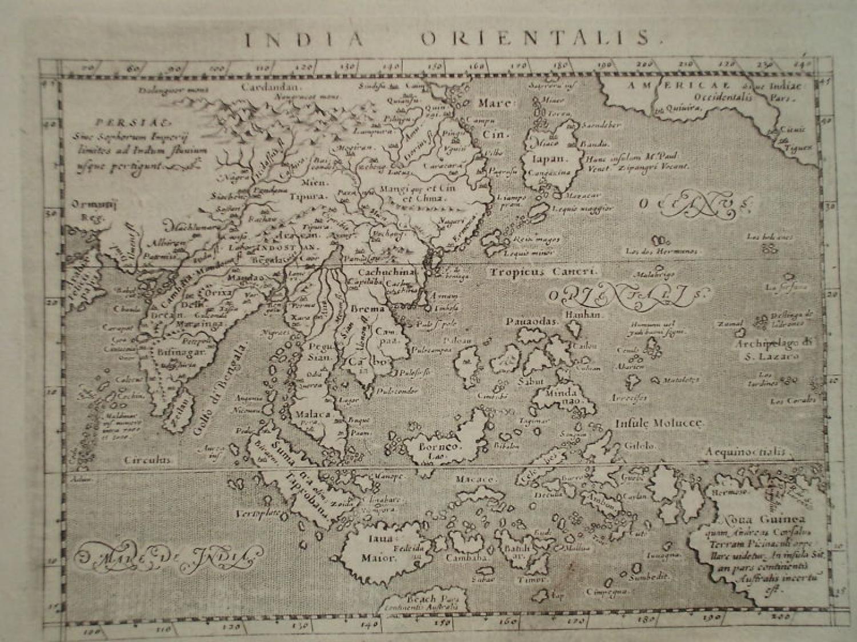 Magini - India Orientalis