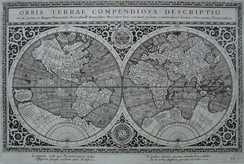 Magini - Orbis terrae compendiosa descriptio