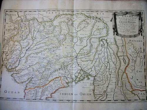 Sanson - L'Empire du Grand Mogol