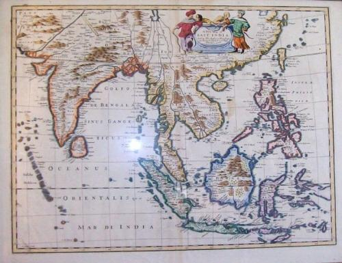 SOLD A New Map of East India
