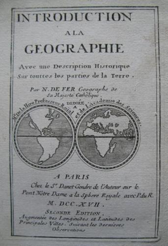 De FerTitle Page:INTRODUCTION A LA GEOGRAPHIE