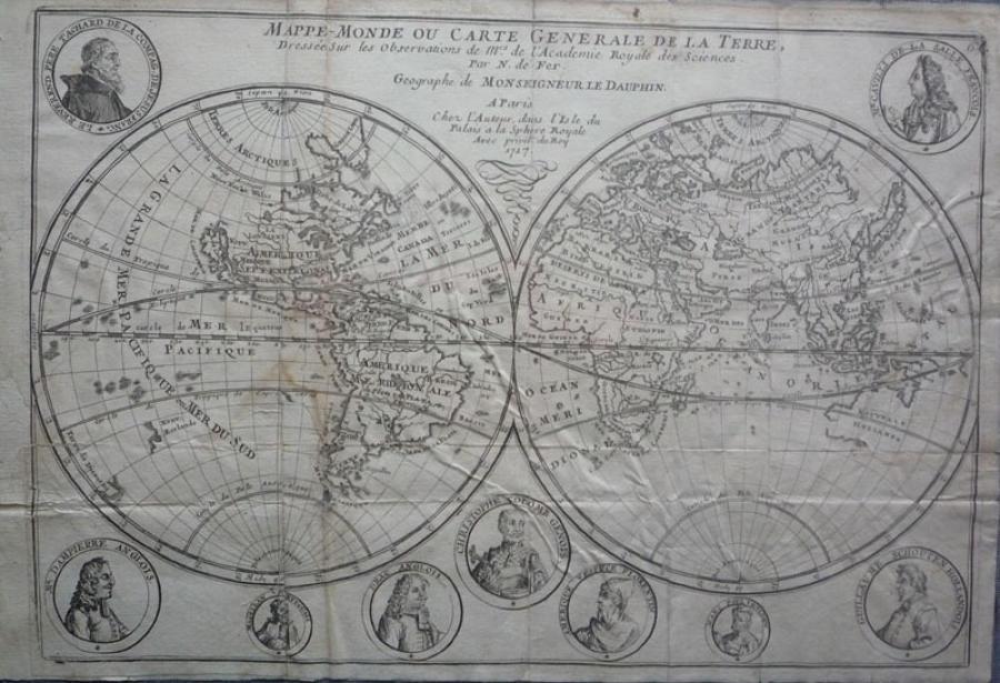 De Fer - Mappe-Monde