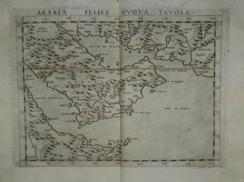 Ruscelli - Arabia Felice Nuova Tavola