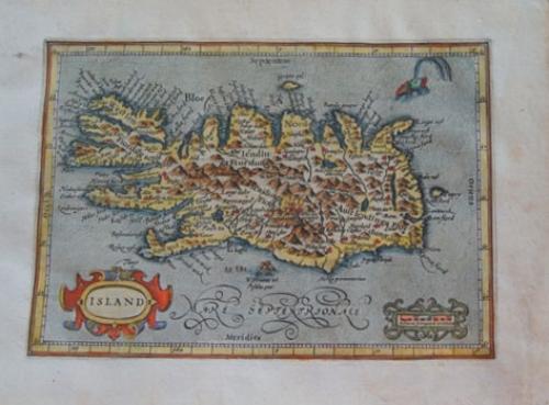 Mercator / Jansson - Island