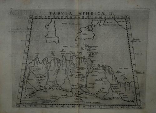 Ruscelli - Tabula Aphricae II.