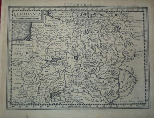 Mercator / Hondius - Lithuania.