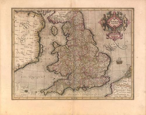 Mercator - (Set of 7) England and Wales