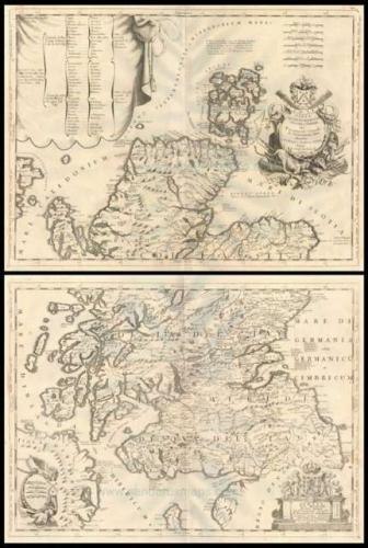 SOLD (Set of 2) Scotia - Parte Settentrionale / Parte Meridionale