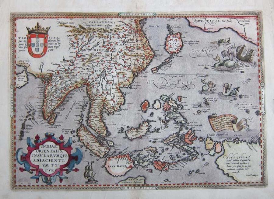 Ortelius - Indiae Orientalis