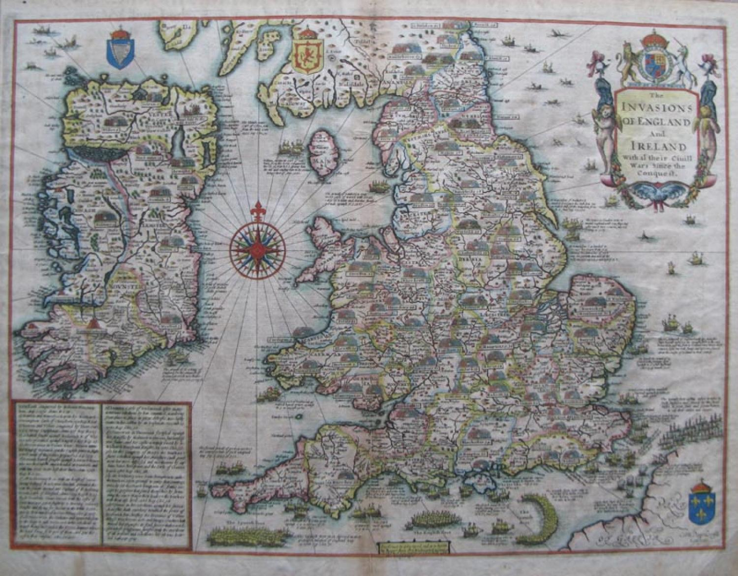 SOLD The Invasions of England and Ireland