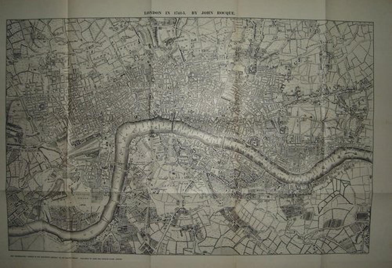 LONDON in 1741 JOHN ROCQUE