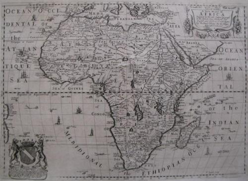 Blome - A Generall Map of Africa