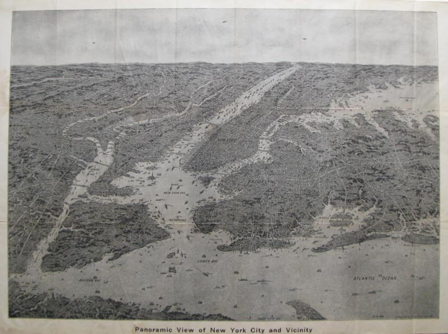 SOLD Panoramic View Of New York City and Vicinity