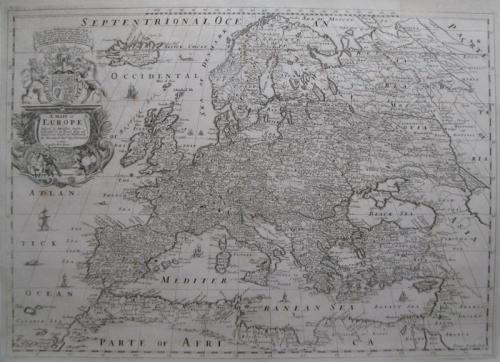 SOLD A Generall Map of Europe