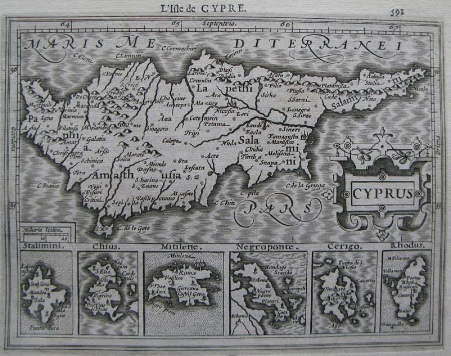 Mercator / Jansson - Cyprus