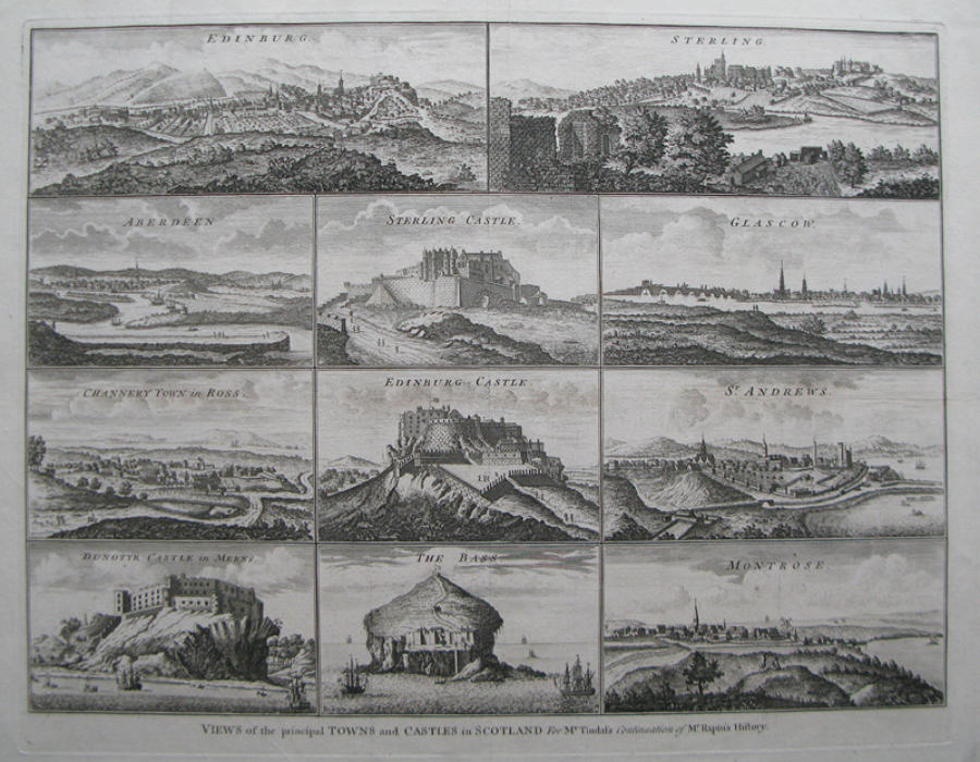 Views of the principal Towns and Castles in Scotland