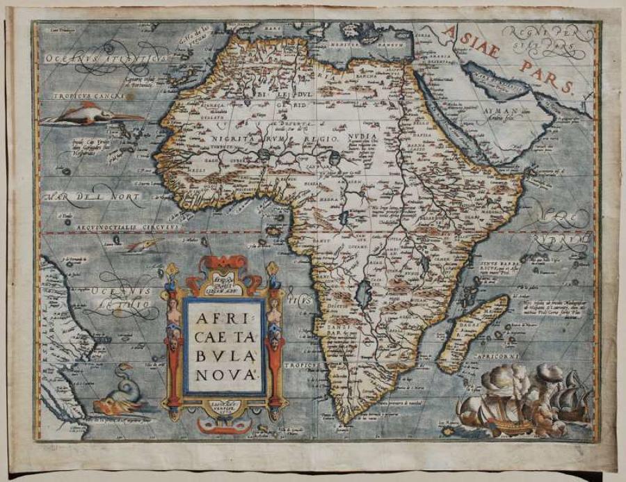 Ortelius - Africae Tabula Nova