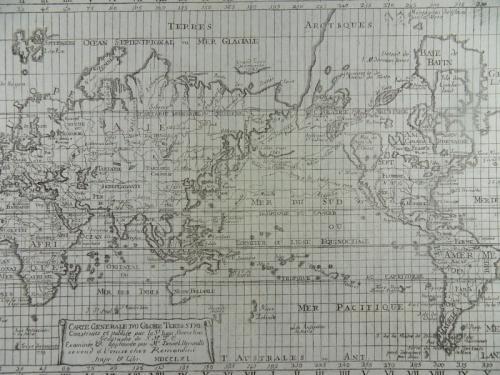 Remondini - Carte generale du globe terrestre