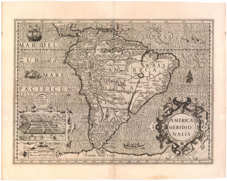 Hondius - America Meridionalis