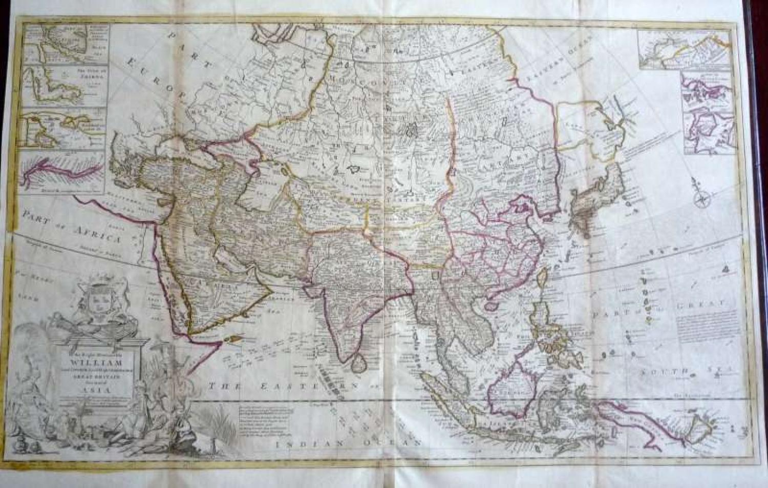 Moll - This Map of Asia