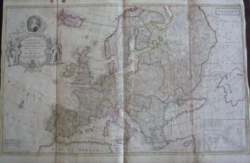 SOLD This map of Europe ...