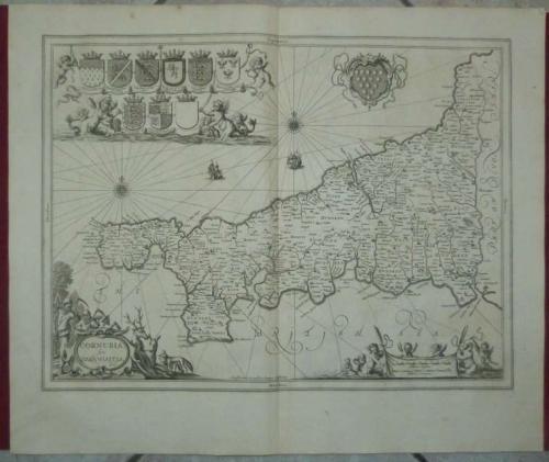 Jansson - Cornubia, sive Corwallia