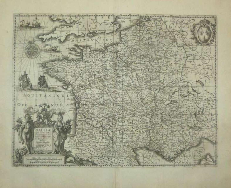 Hondius - Galliae supra omnes...