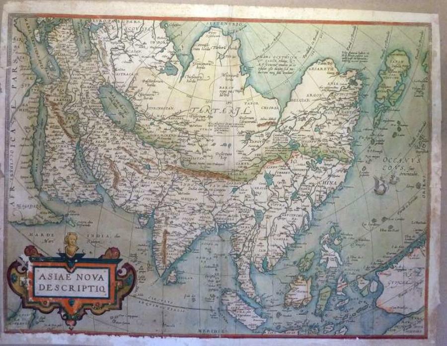 Ortelius - Asiae Nova Descriptio