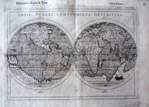 Ruscelli -Orbis Terrae Compendiosa Descriptio